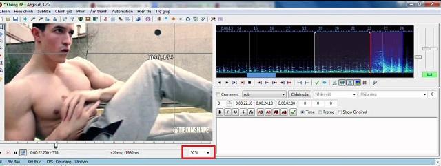 Tùy chỉnh kích thước lớn, nhỏ của video bằng % ở góc bên tay phải