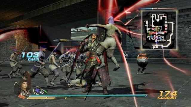 Hướng dẫn cách chơi Dynasty Warriors 8 cực hay