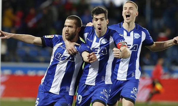 Deportivo Alaves là một trong những đội tuyển mờ nhạt tại Tây Ban Nha